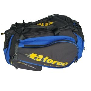 E-Force Black,Blue And Yellow Racquetball Large to